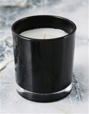 Personalised Foil Initial Candle