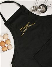 Personalised Shebeen King Apron