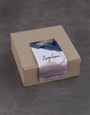 Personalised Shimmer Sally Williams Nougat Box