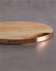 Personalised Cooking Round Chopping Board