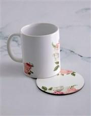 Personalised Photo Upload  Mug  & Coaster Set