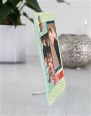 Personalised Daddy Glass Tile