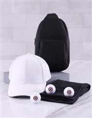 Personalised Retro Stamp Golf Balls