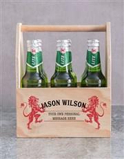 Personalised Lionheart Man Crate
