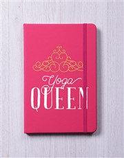 Personalised Queen Notebook