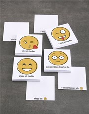 Personalised Emoji Messages Note Gift Set