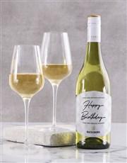 Personalised Contemporary Backsberg Wine