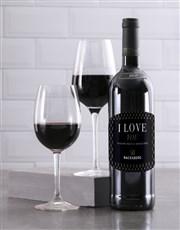 Personalised Gentleman Backsberg Wine