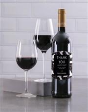 Personalised Slate Backsberg Wine