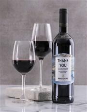 Personalised Marble Backsberg Wine