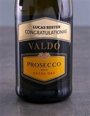 Personalised Valdo Prosecco