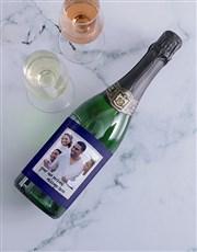 Personalised Scrapbook Photo Wine