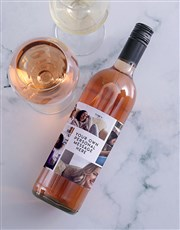Personalised Collage Photo Wine