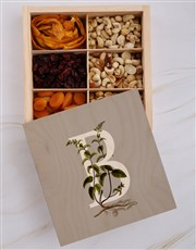 Personalised Initial Snack Crate