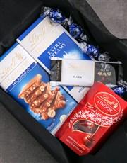 Personalised Birthday Box Of Lindt Chocs