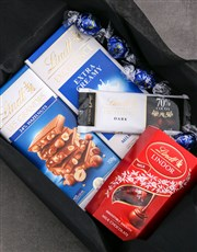 Personalised Congrats Box Of Lindt Chocs