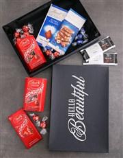 Personalised Hello Beautiful Lind Box