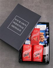 Personalised Lindt Black Box