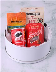 Personalised Floral Wreath Gourmet Tin