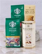 Starbucks and Wedgewood Hamper