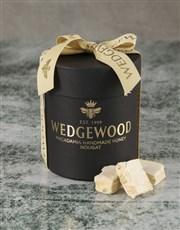 Wine and Black Nougat Hatbox