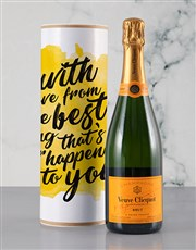 With Love From The Best Bubbly Tube