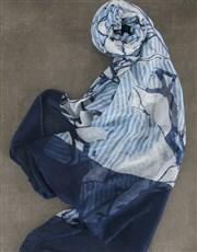 Floral Blue Scarf Pamper Hamper