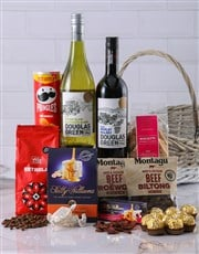 A gift box containing Beaver Creek coffee, biscott