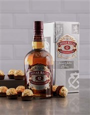 From the heart of Scotland, Chivas Regal blended S
