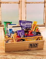 Spoil your sweet heart with a wooden care package