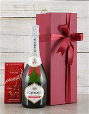 Send your sweetest sentiments with a bottle of JC