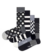 Here they are, in black and white! Four pairs of s