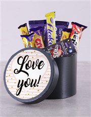 Show your love with this treat-filled hat box whic