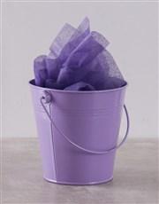 Purple Bucket of Sweet Treats
