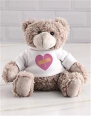 Sorry Heart Teddy in a Tin