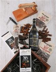 Brandy and Biltong Crate