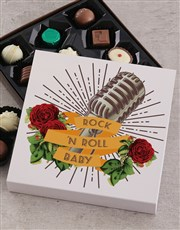 Teddy and Rock n Roll Chocolate Box