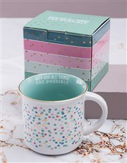 All Things Are Possible Mug Set