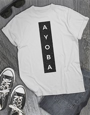 Ayoba Glitter T Shirt