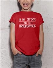 Supervision Kids T Shirt