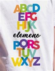 Alphabet Kids T Shirt