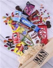 Sweet Assortments Man Crate