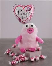 Love You Monster Teddy Hamper