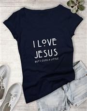 Ladies But I Cuss A Little Christian Shirt