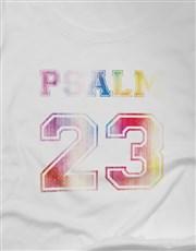 Ladies Psalm 23 Christian Shirt
