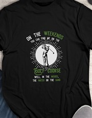 Find Me In The Hazards Golfer Shirt