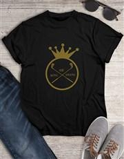 King Of Swing Golfer Shirt
