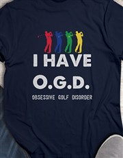 Obsessive Golf Disorder Shirt