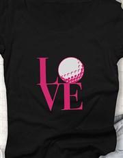 Love Golf Ladies Shirt