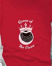 Queen Of The Green Golfer Shirt